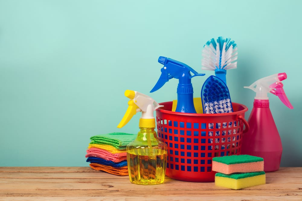 spiff up your home with this indoor spring cleaning checklist