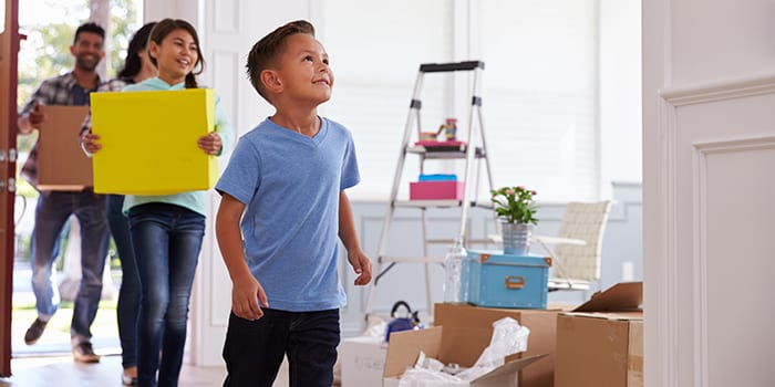 Home Warranty - slice of life family image